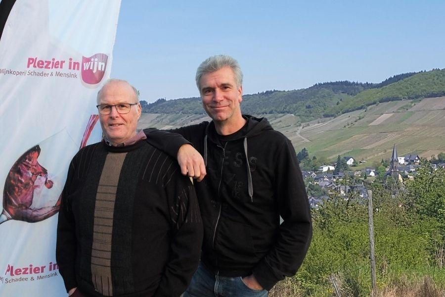Plezier in wijn Pieter en Tom